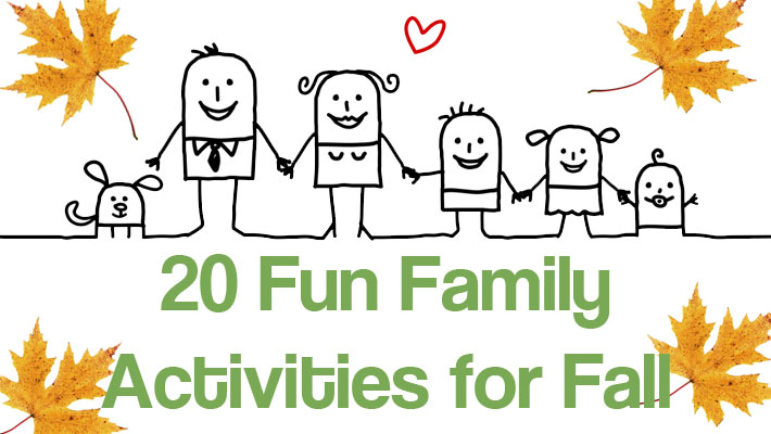 20 Fun Family Activities For Fall